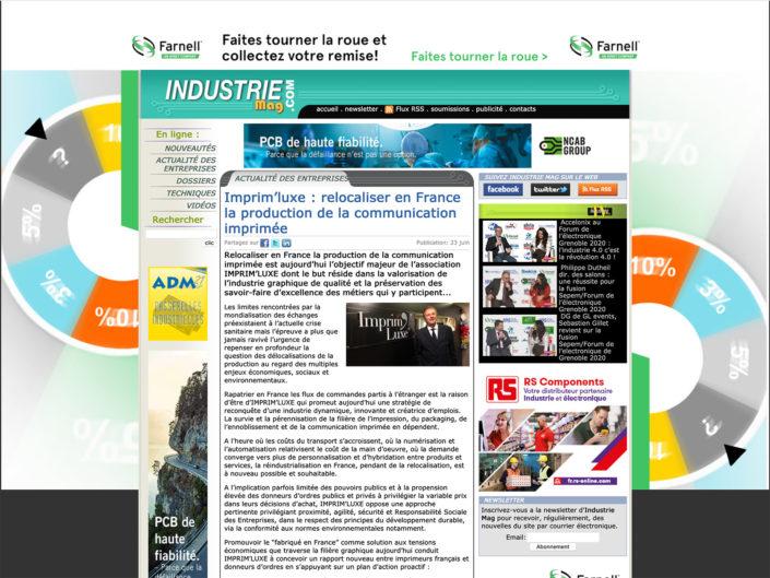 IndustrieMag du 23/06/2020