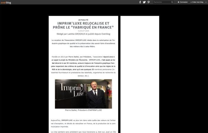 Luxe & Savoir-Faire du 06/07/20