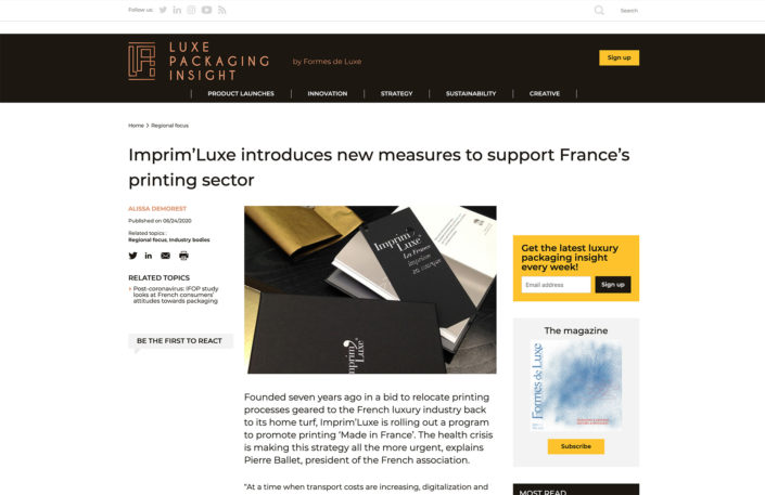 luxe packaging insight